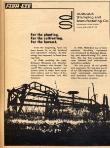 Dubuque Stamping and Manufacturing, Inc.and Farm-Eze Ad