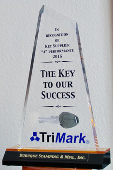 TriMark Key Supplier Awar…