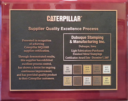 Caterpillar Supplier Qual…